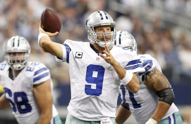 Tony Romo is in his 10th NFL Season.