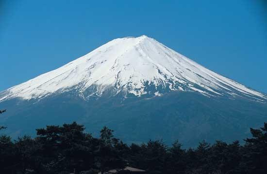 Mount Fuji, the symbol of Japan