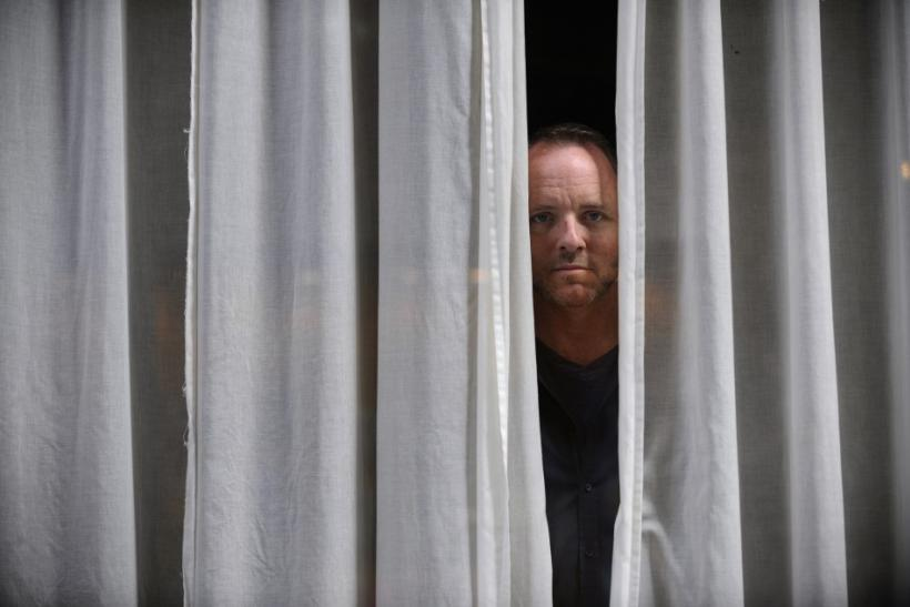 U.S. writer Dennis Lehane poses during the XXIV Noir Week book fair in Gijon
