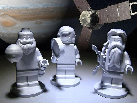 LEGO Figurines to Fly on Juno Spacecraft