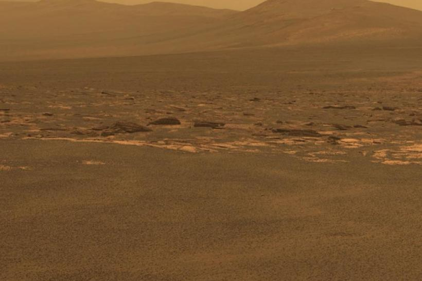 NASA Mars Rover Reaches Endeavour