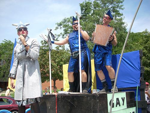 Gay parade in Ukraine