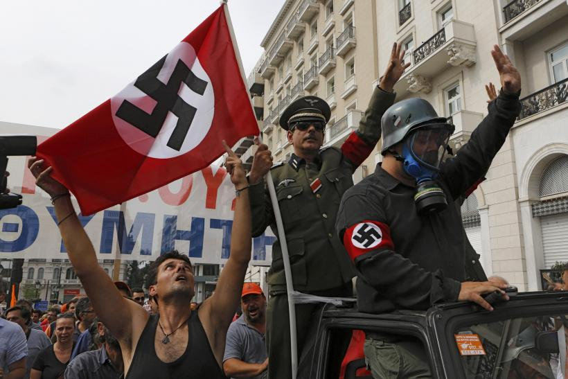 Athens Protesters Against Merkel Visit