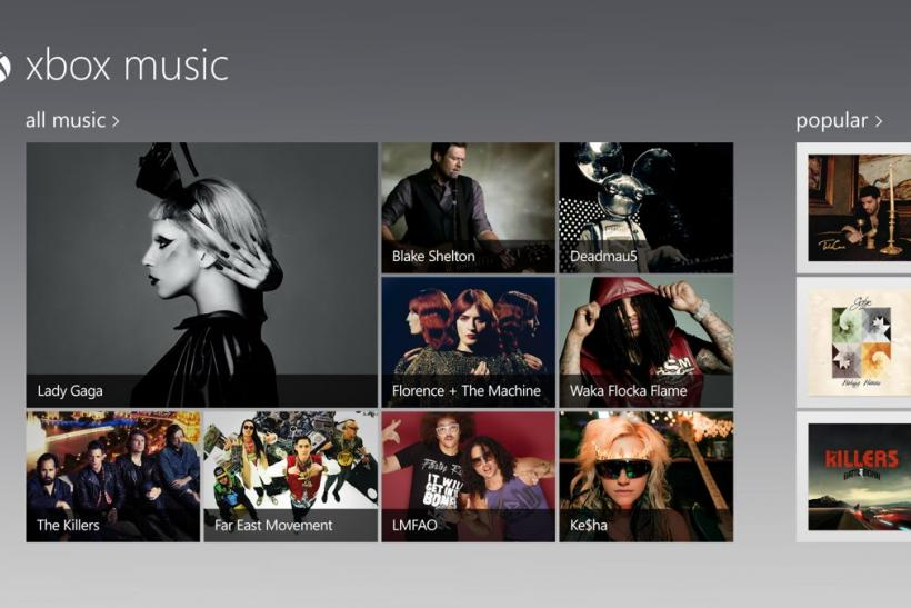 Microsoft Introduces Xbox Music To Enter Streaming Market