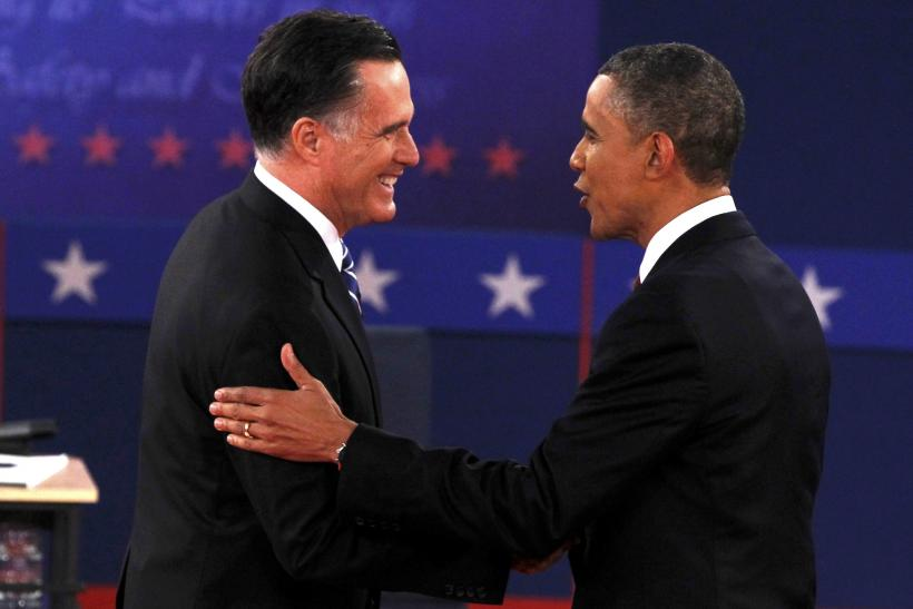 Romney Obama 2nd Debate