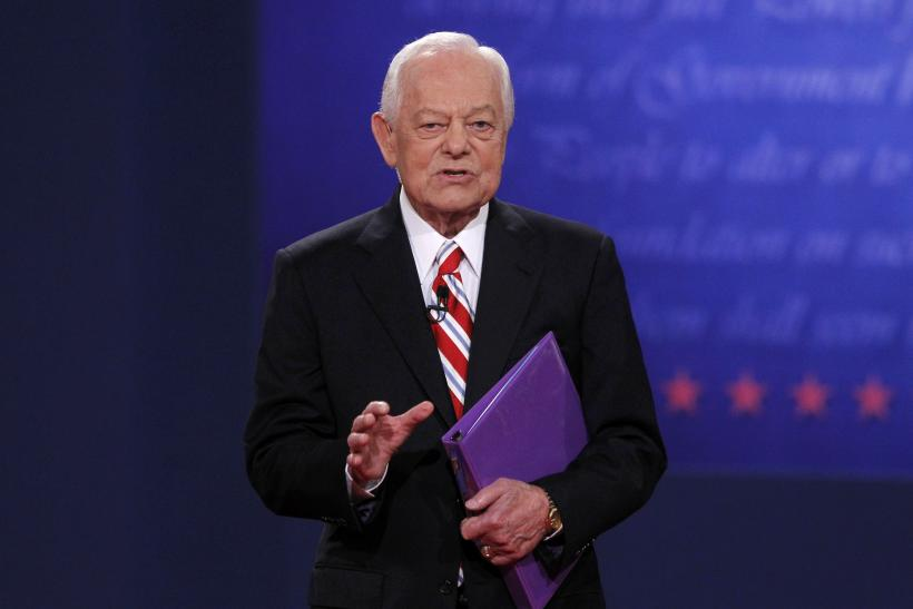 Bob Schieffer at debate
