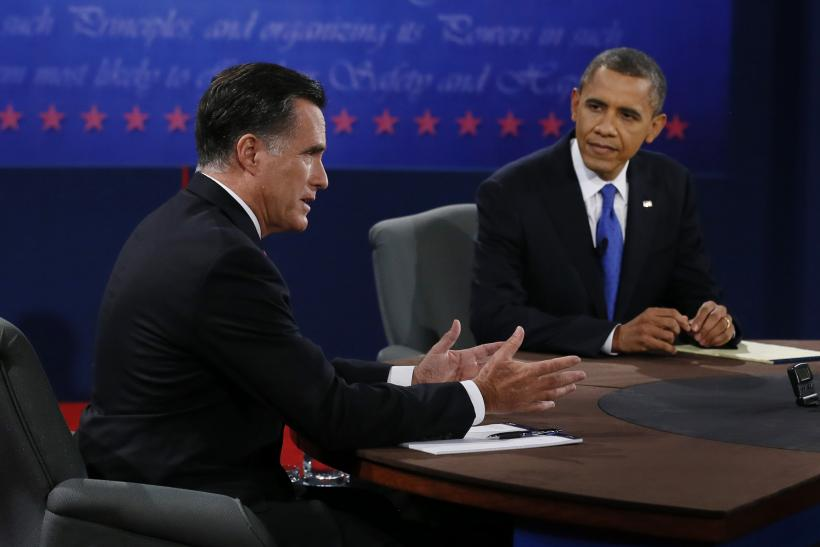 Romney, Obama at 3rd debate
