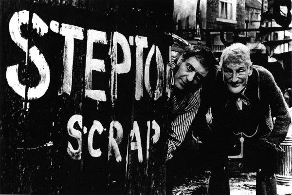 Steptoe and Son (Brambell on right)