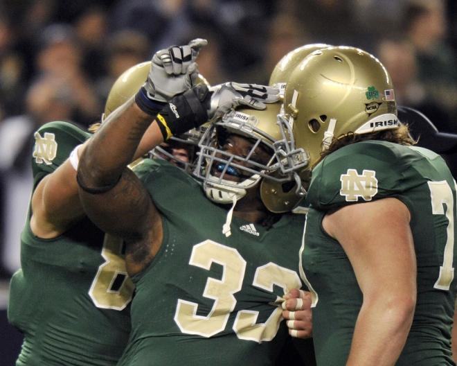Notre Dame finished the 2012 season 12-1.