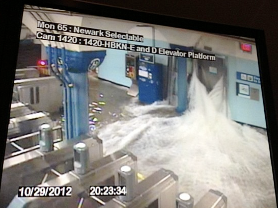 MTA Station Flooding