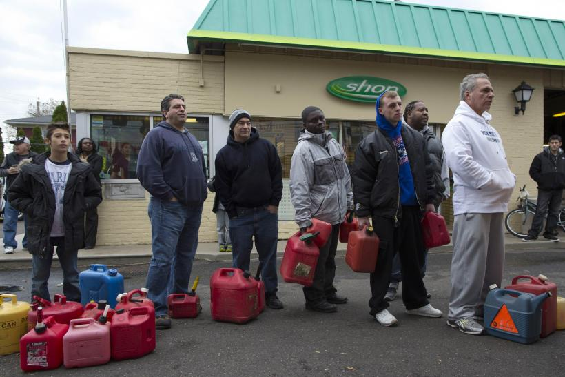 Hurricane Sandy gas shortage