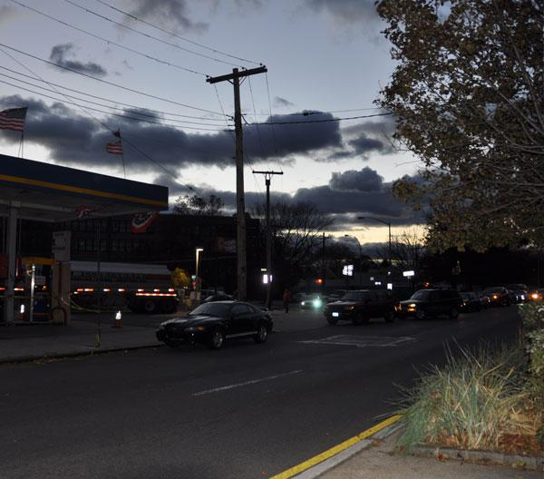 Hurricane Sandy Gas Shortage Slideshow