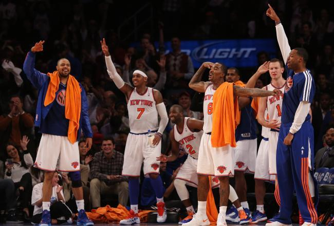 New-look New York Knicks