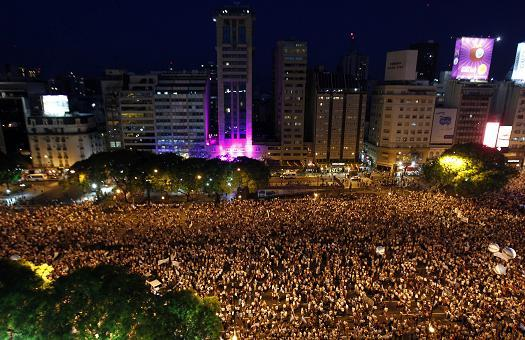 Argentina Protests 8 Nov 2012 2