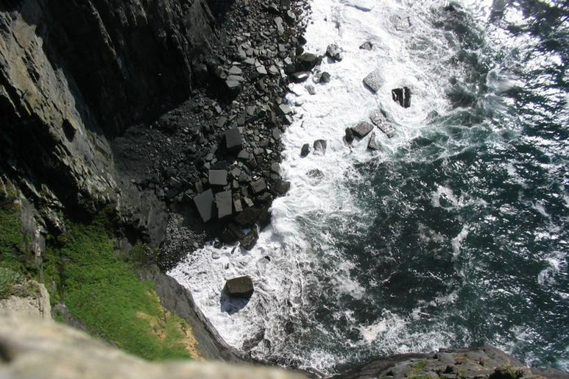A Cliff in Ireland (Fiscal Cliff photo)