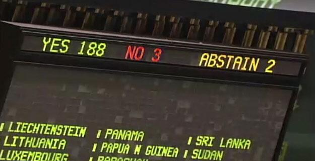 UN Vote On Cuba Embargo
