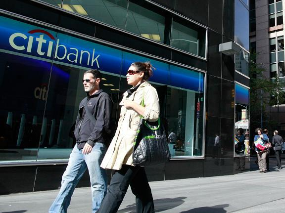 Citigroup walking pic 2