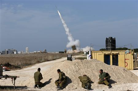 Iron Dome rocket 11/18/12