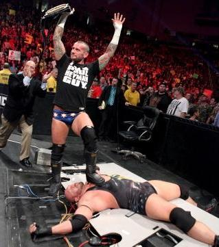 CM Punk over Ryback