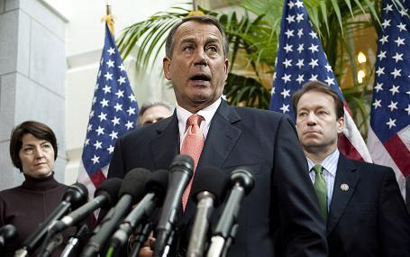 'No Budget, No Pay ' - John Boehner V. The Tea Party