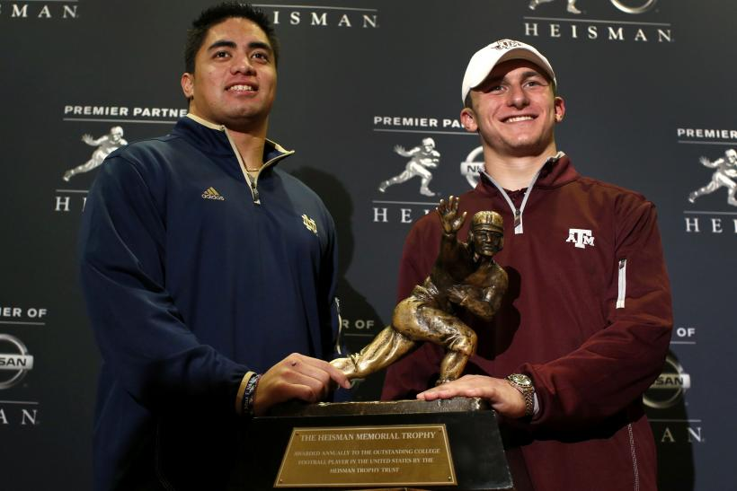 Heisman Trophy Show, Where To Watch Live Online Stream, Prediction, Johnny Manziel Holds Slight Lead Over Manti Te'o, Collin Klein