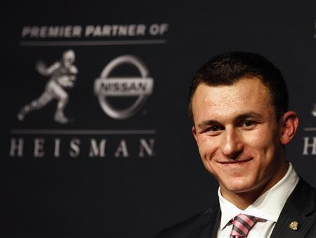 Johnny Football In Amazing Trick Shot Video