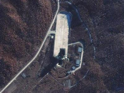 North Korea launch site