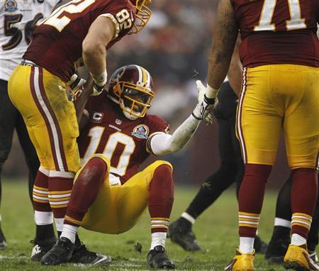 Redskins Uncertain When RG3 Will Return