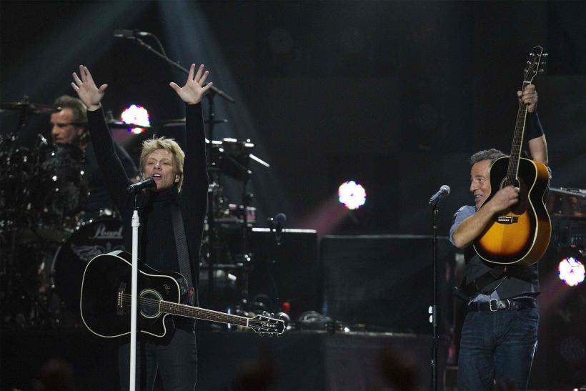 Bruce Springsteen and Bon Jovi