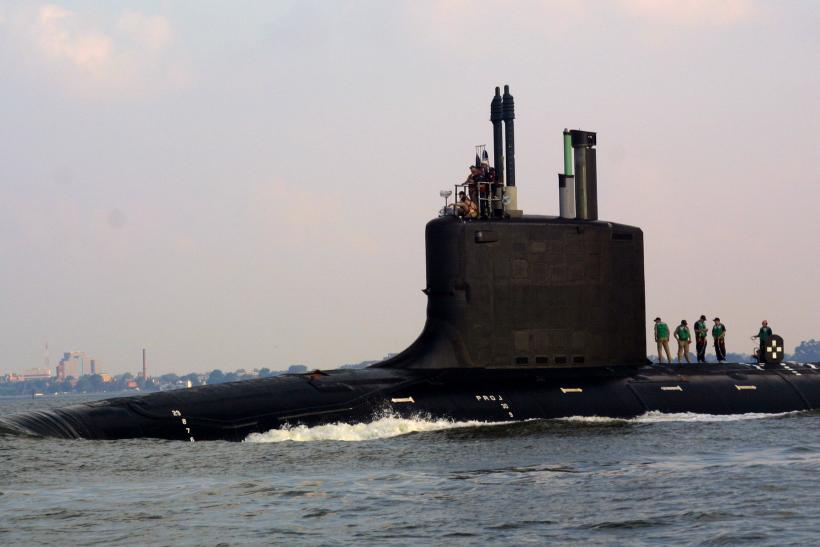 Virginia-class nuclear powered submarine
