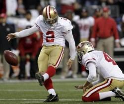 49ers Kicker Death Threat: David Akers Retweets Fan's Ominous Warning