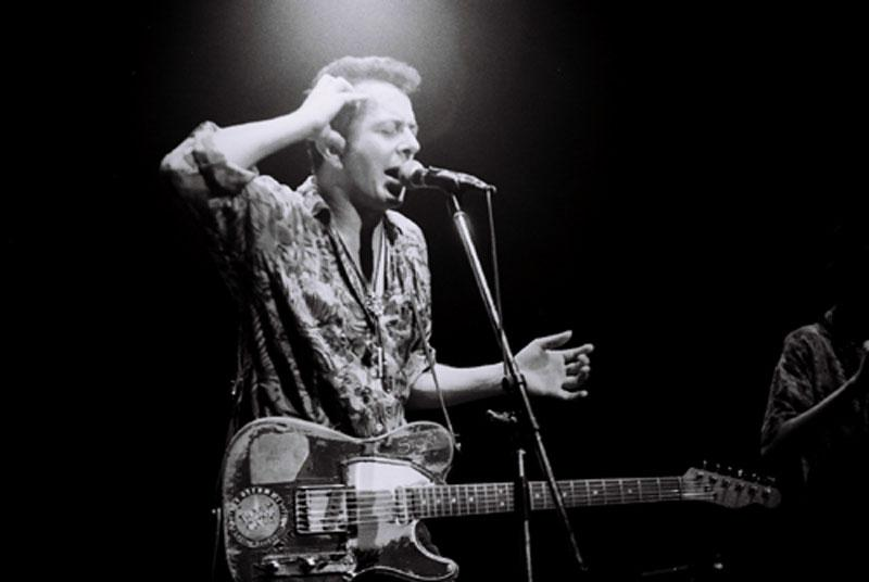 Joe Strummer, co-founder of The Clash
