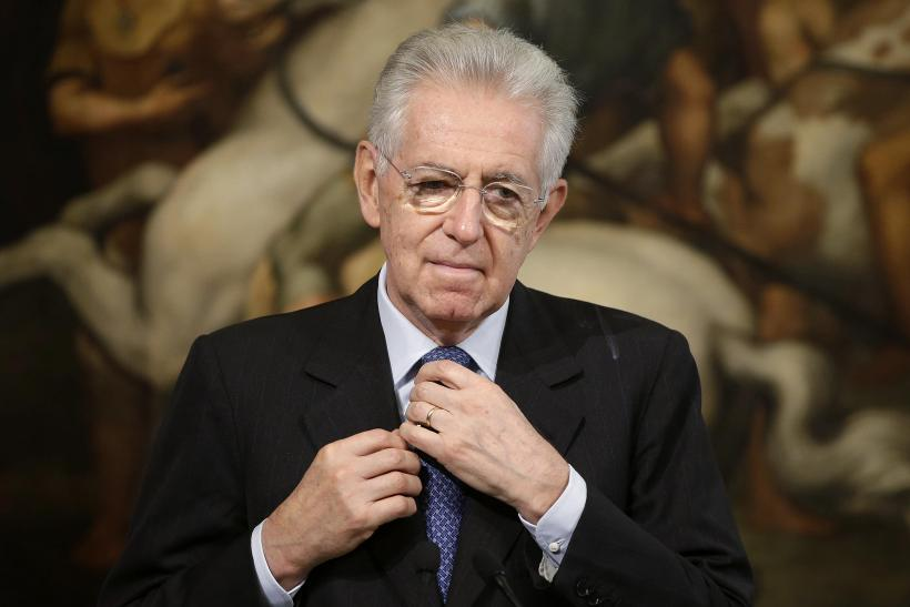 File Photo Of Italy's Prime Minister Mario Monti-12.10.24