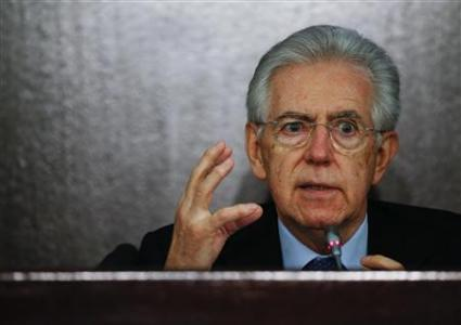 Monti Not Running In Election, But 'Available'