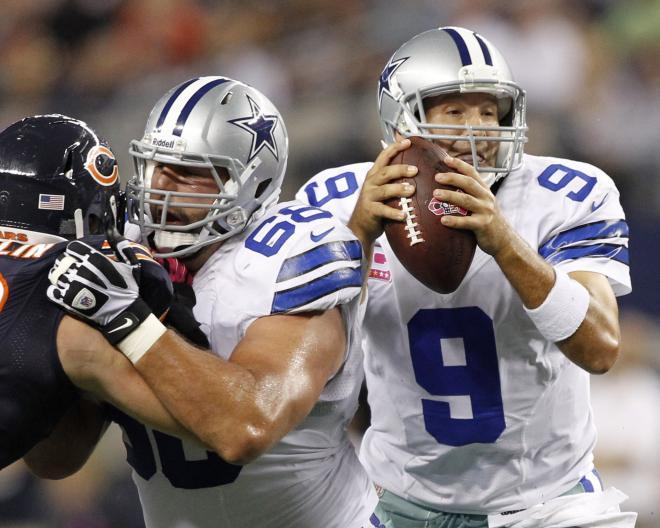 Tony Romo and the Cowboys missed the 2012 playoffs.