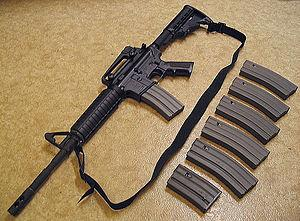 Bushmaster XM15-E2S M4 Style Carbine assault rifle