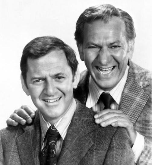 Tony Randall and Jack Klugman
