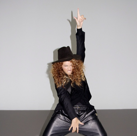 Beyonce Poses Like Michael Jackson In New Pictures