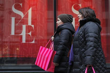 US Holiday Shopping Lowest Since 2008