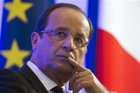 Hollande Calls For Further ECB Intervention