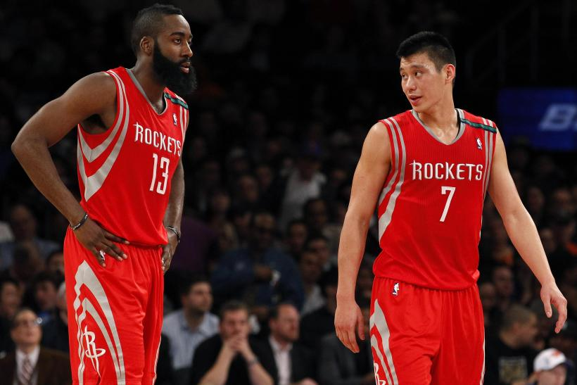 Jeremy Lin James Harden