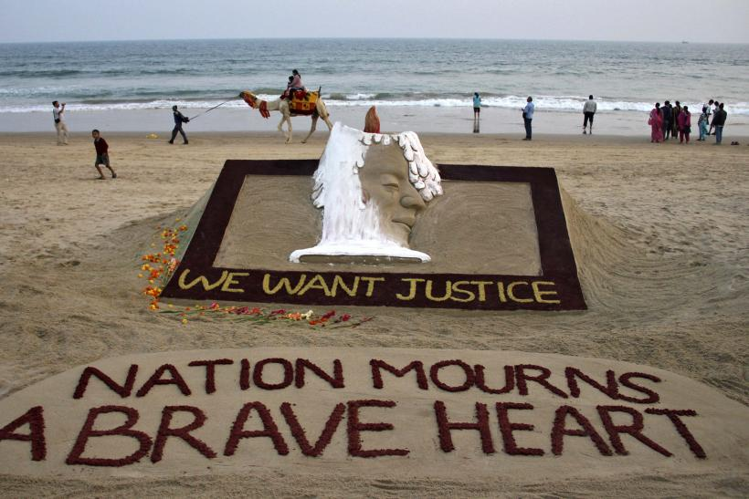 We Want Justice-Sand Sculpture-12.12.29