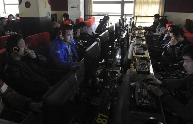 2012 China Internet Cafe