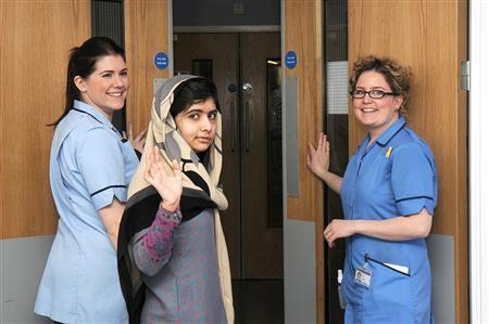 Malala Yousufzai Temporarily Discharged From UK Hospital