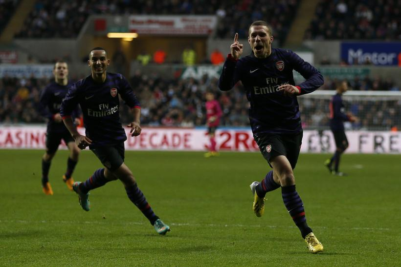 VIDEO Arsenal 2-2 Swansea: Highlights, Graham's Late Equalizer Keeps Swans Alive
