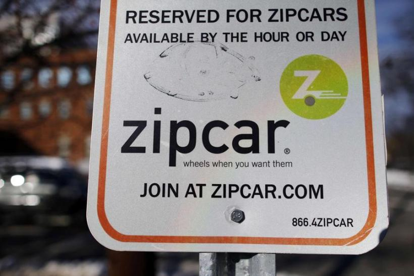 Zipcar Parking Sign