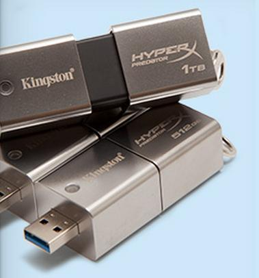 Kingston Debuts DataTraveler HyperX Predator, Offers 1TB On Flash