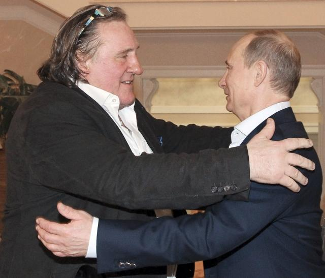 Putin and Depardieu
