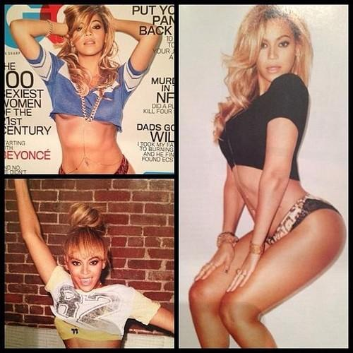 Beyoncé's GQ Shoot