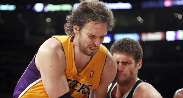 Pau Gasol has missed 13 games this season.